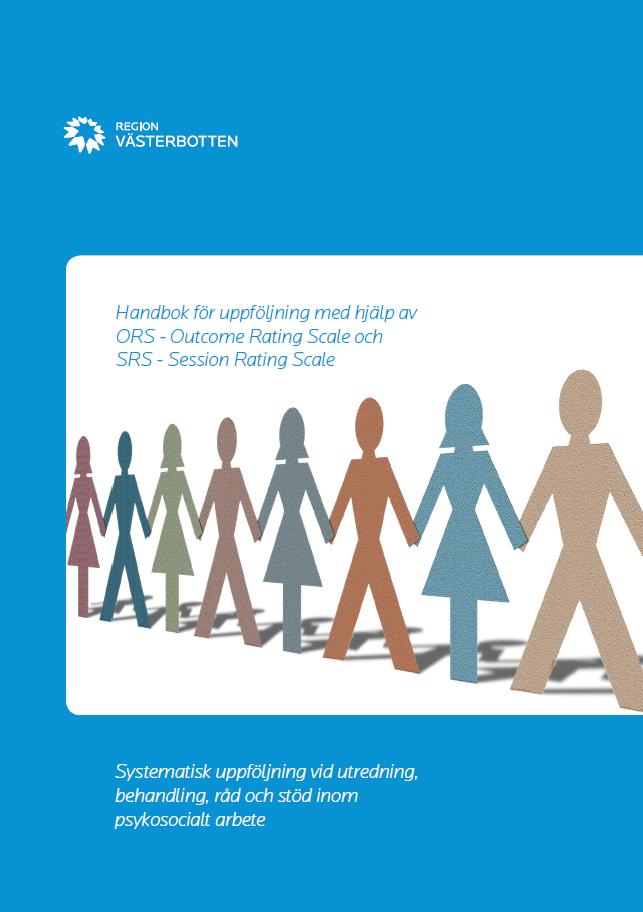 Bild på Handbok för uppföljning med hjälp av ORS/SRS