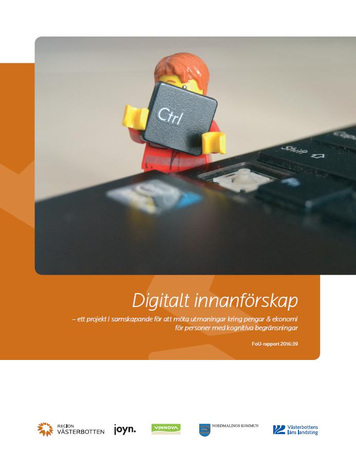 Bild på rapporten Digitalt innanförskap