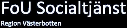 FoU Socialtjänst
